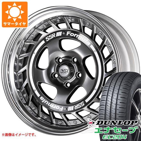 サマータイヤ 225/50R18 95V ダンロップ エナセーブ EC204 SSR フォーミュラ エアロスポーク 7.5-18 タイヤホイール4本セット
