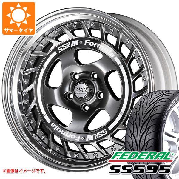 サマータイヤ 235/50R18 101W XL フェデラル SS595 SSR フォーミュラ エアロスポーク 8.0-18 タイヤホイール4本セット