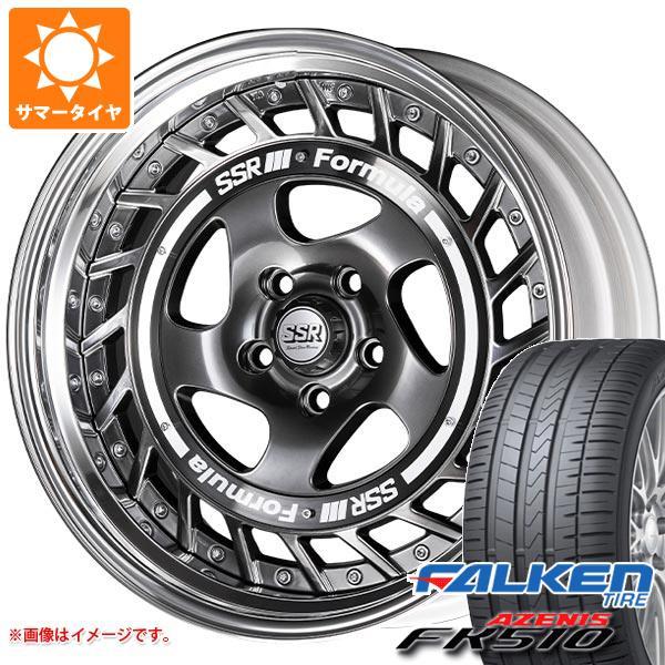 サマータイヤ 245/50R18 104Y XL ファルケン アゼニス FK510 SSR フォーミュラ エアロスポーク 8.0-18 タイヤホイール4本セット