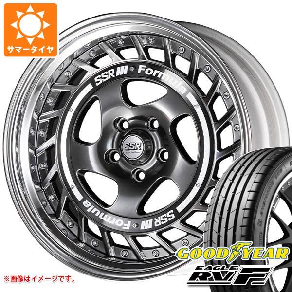 サマータイヤ 225/45R18 95W XL グッドイヤー イーグル RV-F SSR フォーミュラ エアロスポーク 7.5-18 タイヤホイール4本セット