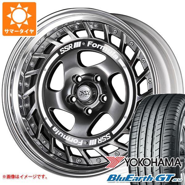サマータイヤ 235/40R19 96W XL ヨコハマ ブルーアースGT AE51 SSR フォーミュラ エアロスポーク 8.0-19 タイヤホイール4本セット