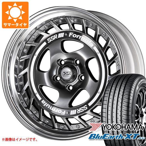 サマータイヤ 215/50R18 92V ヨコハマ ブルーアースXT AE61 SSR フォーミュラ エアロスポーク 7.0-18 タイヤホイール4本セット