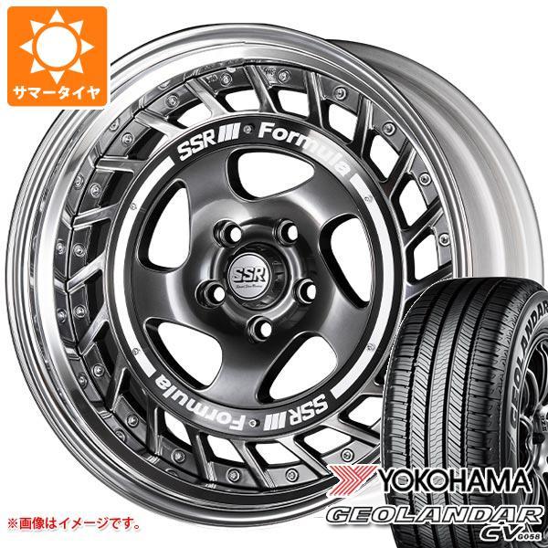 サマータイヤ 235/50R18 97V ヨコハマ ジオランダー CV 2020年4月発売サイズ SSR フォーミュラ エアロスポーク 8.0-18 タイヤホイール4本セット