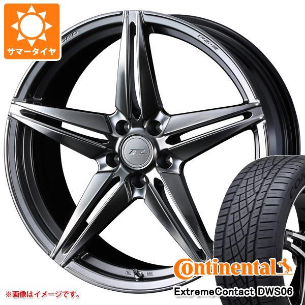 正規品 サマータイヤ 235/55R19 105W XL コンチネンタル エクストリームコンタクト DWS06 F ゼロ FZ-3 8.0-19 タイヤホイール4本セット