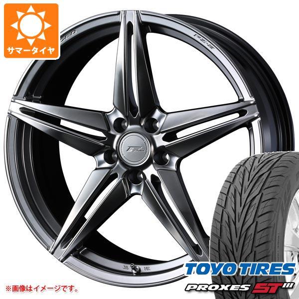 サマータイヤ 245/50R20 102V トーヨー プロクセス S/T3 F ゼロ FZ-3 8.5-20 タイヤホイール4本セット