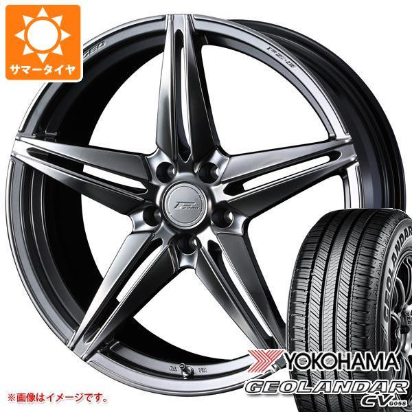 サマータイヤ 235/55R20 102V ヨコハマ ジオランダー CV F ゼロ FZ-3 8.5-20 タイヤホイール4本セット