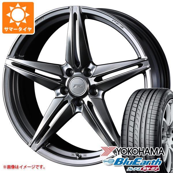 サマータイヤ 245/40R20 99W XL ヨコハマ ブルーアース RV-02 F ゼロ FZ-3 8.5-20 タイヤホイール4本セット