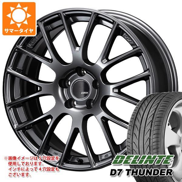 サマータイヤ 205/40R17 84W XL デリンテ D7 サンダー SSR GTV04 7.0-17 タイヤホイール4本セット