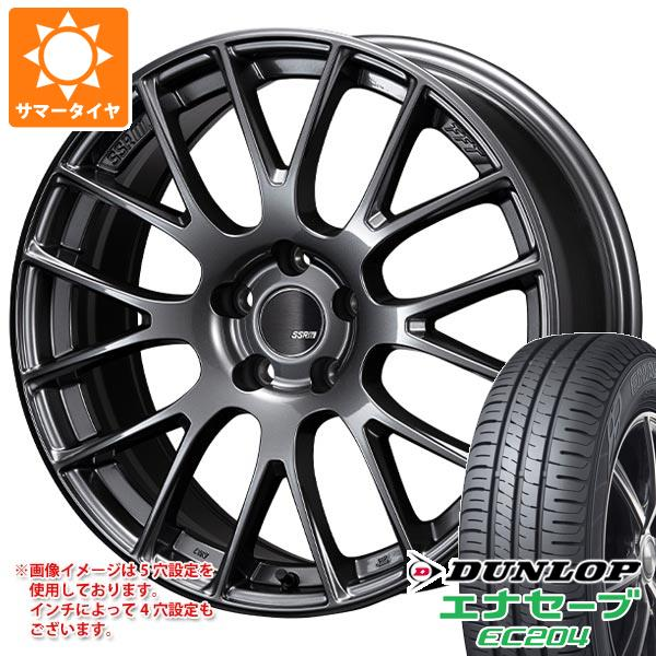 サマータイヤ 225/45R18 95W XL ダンロップ エナセーブ EC204 SSR GTV04 8.5-18 タイヤホイール4本セット