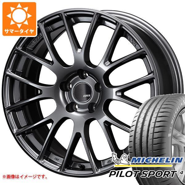 経典 サマータイヤ SSR 245 (100Y)/45R18 (100Y) XL ミシュラン サマータイヤ パイロットスポーツ4 SSR GTV04 8.5-18 タイヤホイール4本セット, サバグン:e6c6b7b5 --- statwagering.com