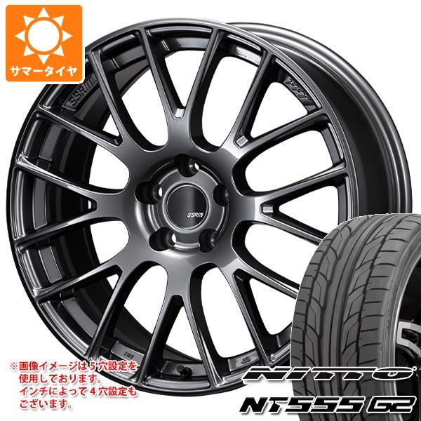 サマータイヤ 215/40R18 89W XL ニットー NT555 G2 SSR GTV04 7.5-18 タイヤホイール4本セット