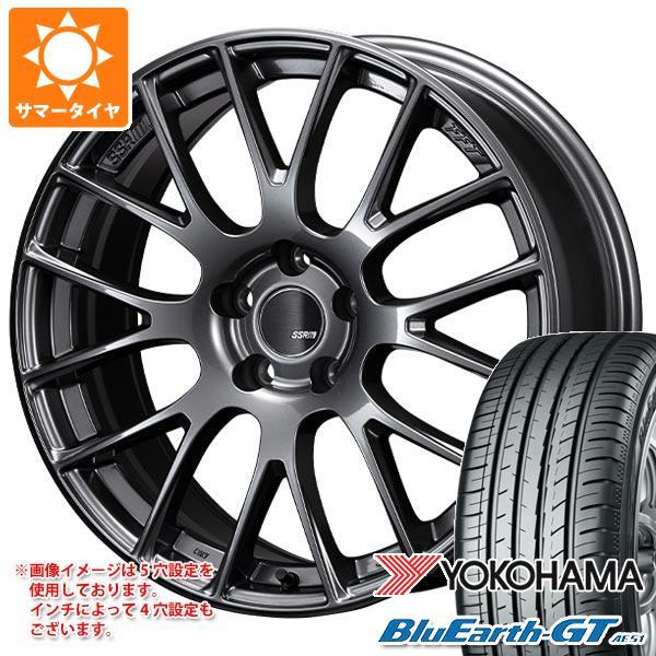 サマータイヤ 225/50R18 95W ヨコハマ ブルーアースGT AE51 SSR GTV04 7.5-18 タイヤホイール4本セット