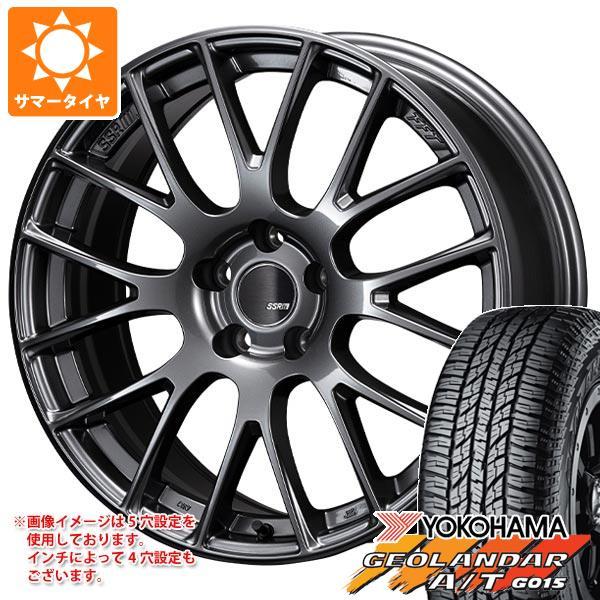 人気商品は サマータイヤ 225/65R17 102H ヨコハマ ジオランダー A/T G015 ブラックレター SSR GTV04 7.0-17 タイヤホイール4本セット, 美星町 7216942c