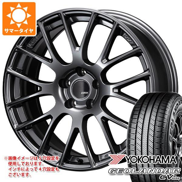 サマータイヤ 165/60R15 77H ヨコハマ ジオランダー CV 2020年4月発売サイズ SSR GTV04 5.0-15 タイヤホイール4本セット