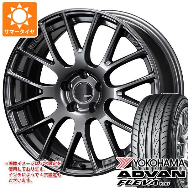 サマータイヤ 235/50R18 97V ヨコハマ アドバン フレバ V701 SSR GTV04 7.5-18 タイヤホイール4本セット