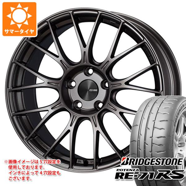 サマータイヤ 265/35R18 97W XL ブリヂストン ポテンザ RE-71RS ENKEI エンケイ パフォーマンスライン PFM1 9.0-18 タイヤホイール4本セット