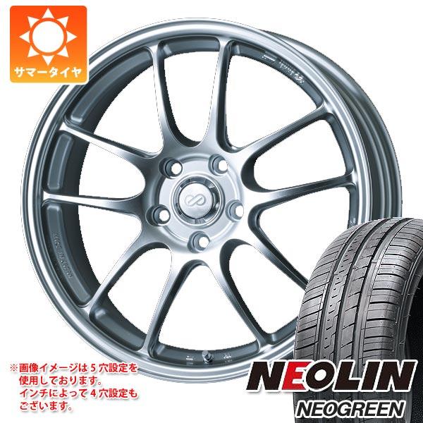 サマータイヤ 185/65R15 88H ネオリン ネオグリーン ENKEI エンケイ パフォーマンスライン PF01 6.5-15 タイヤホイール4本セット