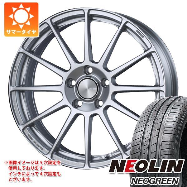 サマータイヤ 165/50R15 72V ネオリン ネオグリーン ENKEI エンケイ パフォーマンスライン PF03 5.0-15 タイヤホイール4本セット