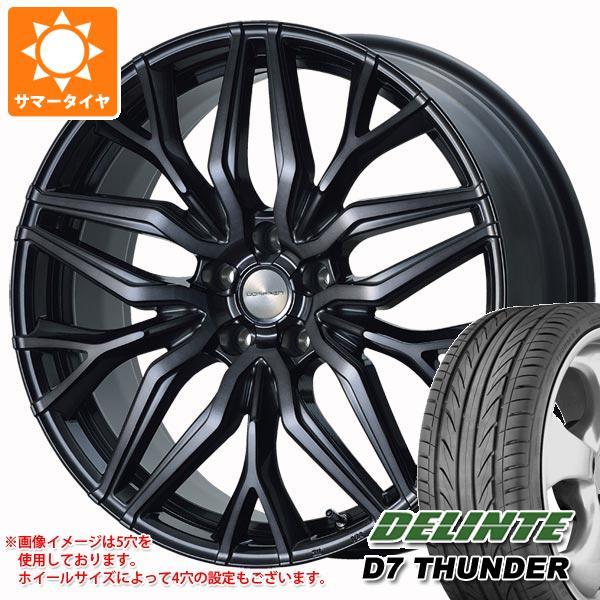 サマータイヤ 215/40R18 89W XL デリンテ D7 サンダー ドルフレン ヴァーゲル 7.0-18 タイヤホイール4本セット