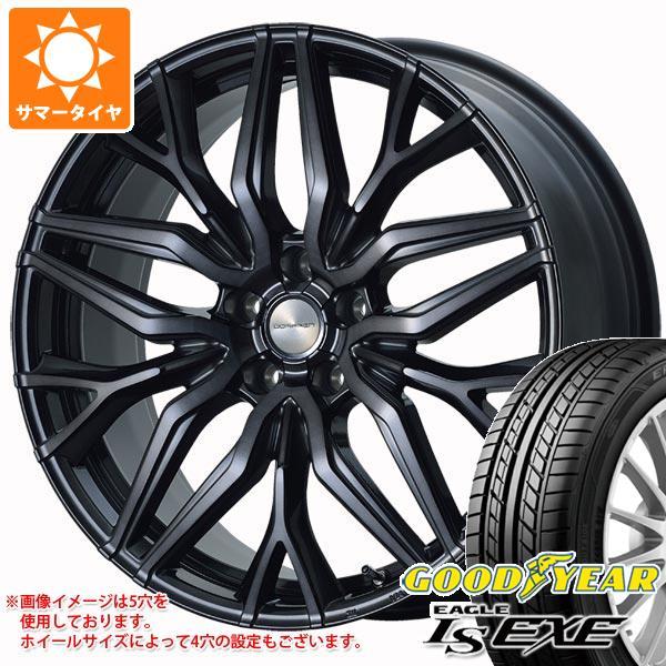 サマータイヤ 215/45R17 91W XL グッドイヤー イーグル LSエグゼ ドルフレン ヴァーゲル 7.0-17 タイヤホイール4本セット