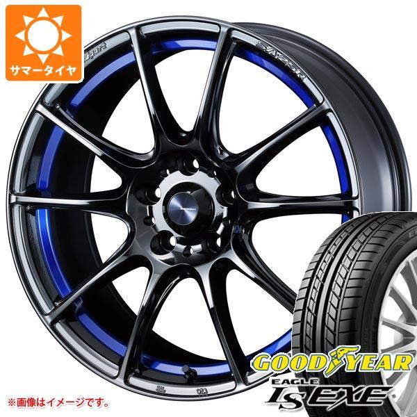 サマータイヤ 215/50R17 95V XL グッドイヤー イーグル LSエグゼ ウェッズスポーツ SA-25R 7.5-17 タイヤホイール4本セット