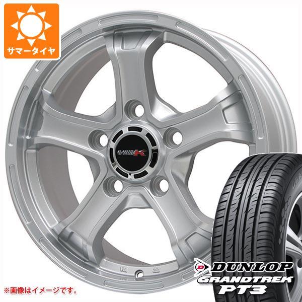 ランドクルーザー 200系専用 サマータイヤ ダンロップ グラントレック PT3 285/60R18 116V B マッド K 8.0-18 タイヤホイール4本セット