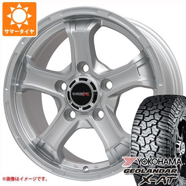 ランドクルーザー 200系専用 サマータイヤ ヨコハマ ジオランダー X-AT G016 LT285/60R18 122/119Q B マッド K 8.0-18 タイヤホイール4本セット