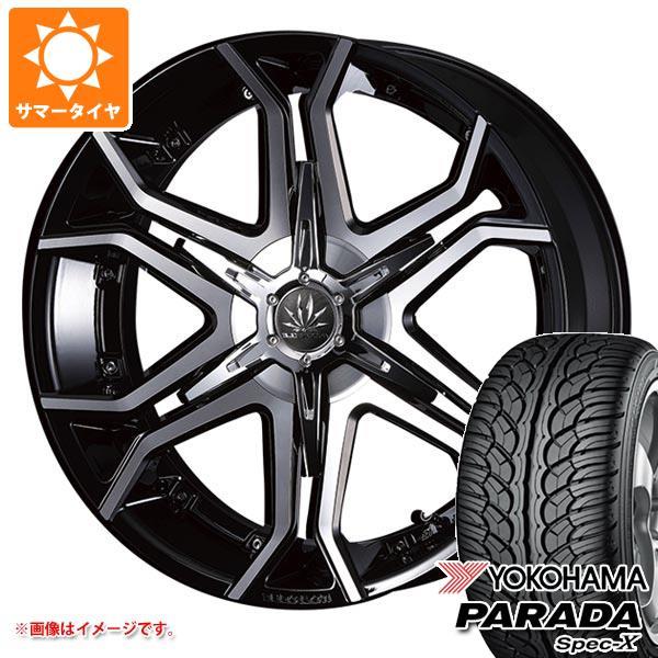 ランドクルーザー 200系専用 サマータイヤ ヨコハマ パラダ スペック-X PA02 285/45R22 114V REINF クリムソン マーテル ブルホーン 10.0-22 タイヤホイール4本セット