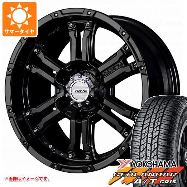 キャラバン NV350専用 サマータイヤ ヨコハマ ジオランダー A/T G015 215/70R16 100H ブラックレター レイズ デイトナ FDX SB 6.5-16 タイヤホイール4本セット