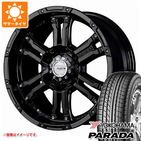 キャラバン NV350専用 サマータイヤ ヨコハマ パラダ PA03 215/60R17C 109/107S ホワイトレター レイズ デイトナ FDX SB 6.5-17 タイヤホイール4本セット