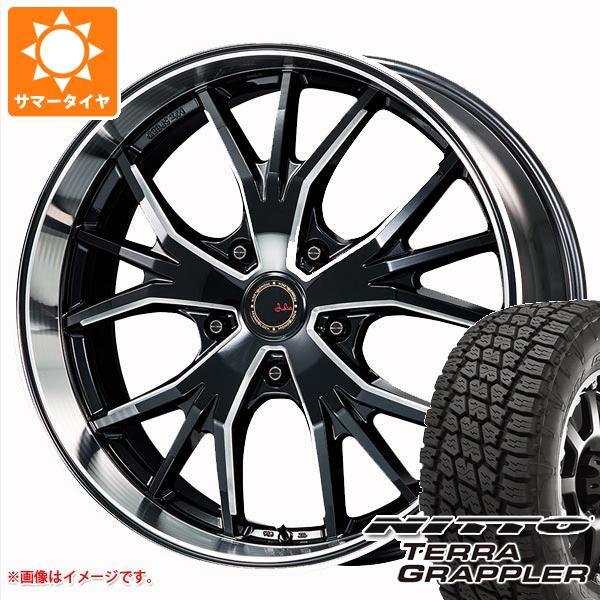 ランドクルーザー 200系専用 サマータイヤ ニットー テラグラップラー 285/45R22 114S XL エムズスピード ジュリア ランチャ モノブロック 10.0-22 タイヤホイール4本セット