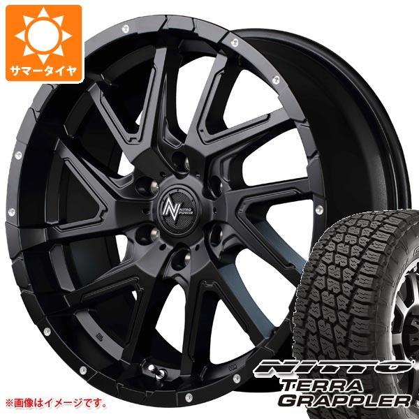 サマータイヤ 265/70R17 113S ニットー テラグラップラー ナイトロパワー デリンジャー 8.0-17 タイヤホイール4本セット