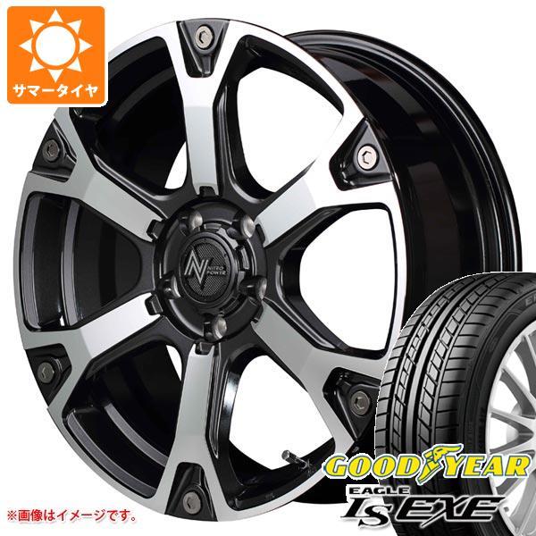 サマータイヤ 225/45R18 91W グッドイヤー イーグル LSエグゼ ナイトロパワー ウォーヘッドS 7.0-18 タイヤホイール4本セット