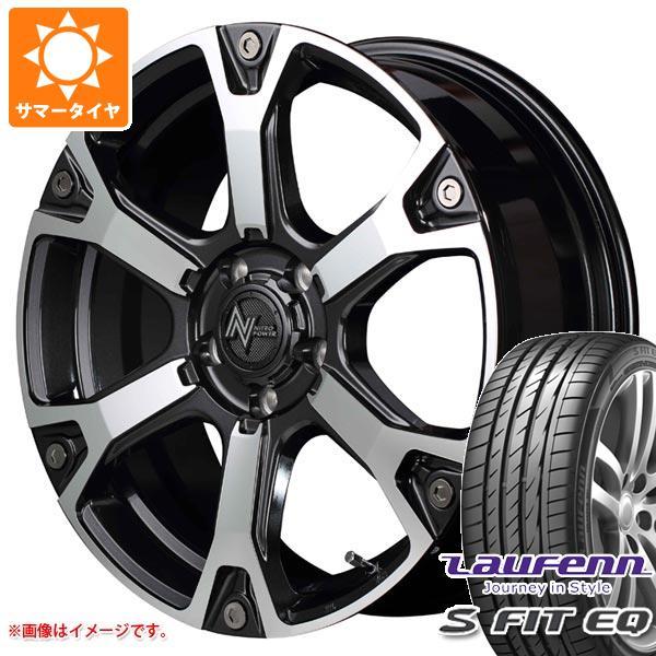 サマータイヤ 235/60R18 107V XL ラウフェン Sフィット EQ LK01 ナイトロパワー ウォーヘッドS 7.0-18 タイヤホイール4本セット