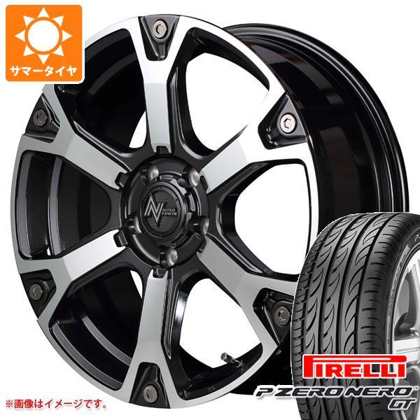 サマータイヤ 235/45R18 98Y XL ピレリ P ゼロ ネロ GT ナイトロパワー ウォーヘッドS 7.0-18 タイヤホイール4本セット