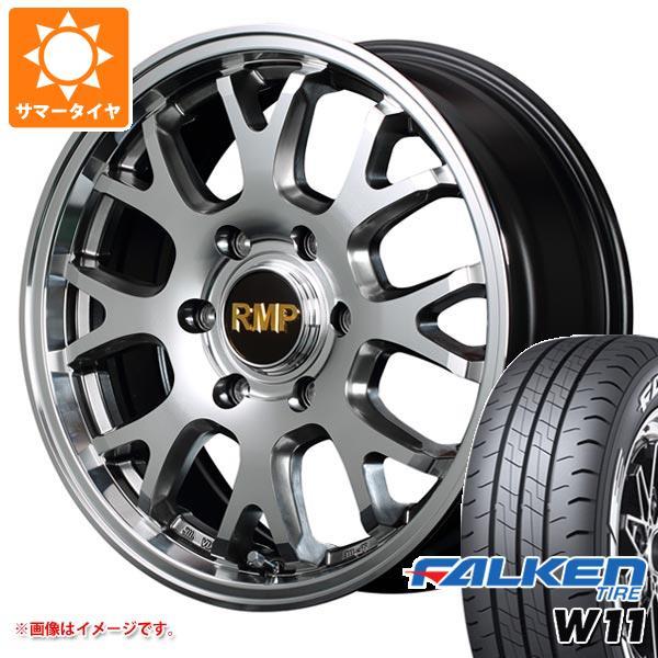ハイエース 200系専用 サマータイヤ ファルケン W11 215/60R17C 109/107N ホワイトレター RMP 028FX 6.5-17 タイヤホイール4本セット