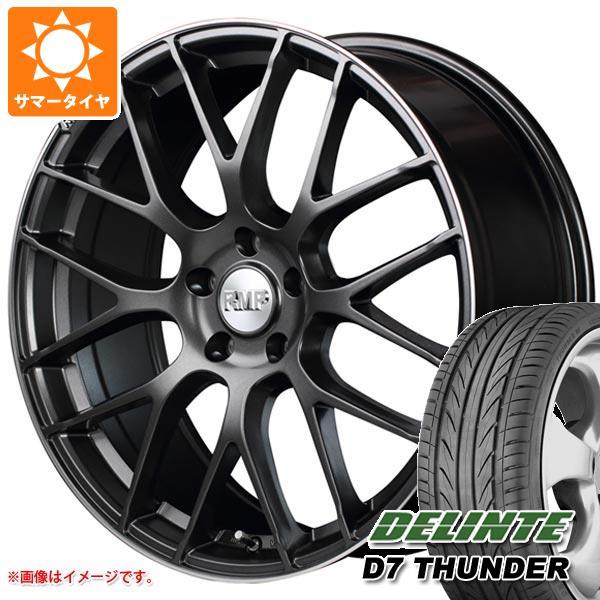 サマータイヤ 245/40R20 99W XL デリンテ D7 サンダー RMP 028F 8.5-20 タイヤホイール4本セット