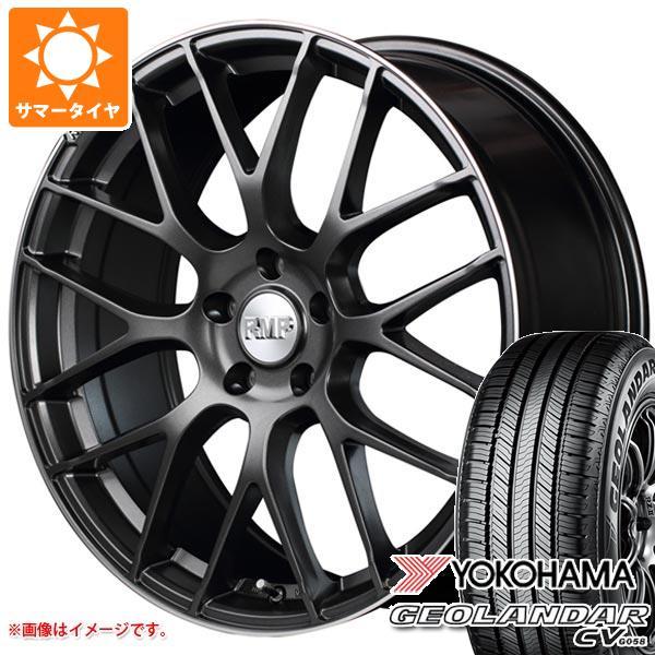 サマータイヤ 235/55R18 100V ヨコハマ ジオランダー CV RMP 028F 8.0-18 タイヤホイール4本セット