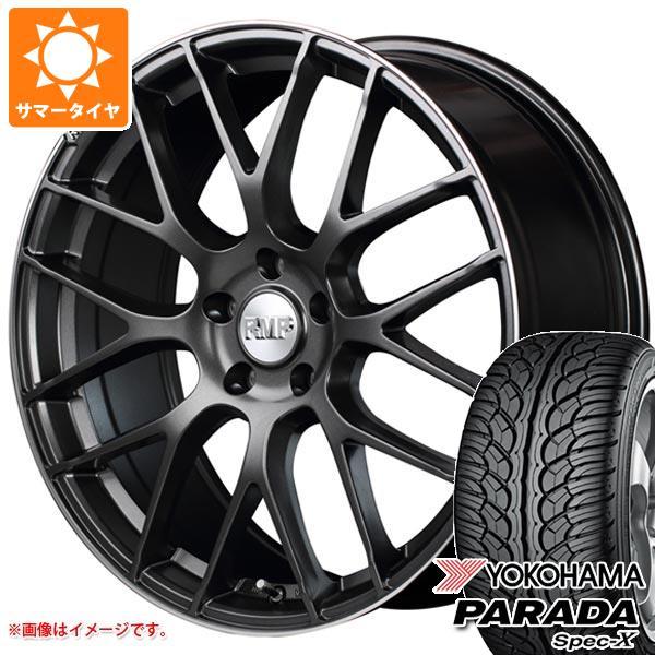 サマータイヤ 235/55R18 100V ヨコハマ パラダ スペック-X PA02 RMP 028F 8.0-18 タイヤホイール4本セット