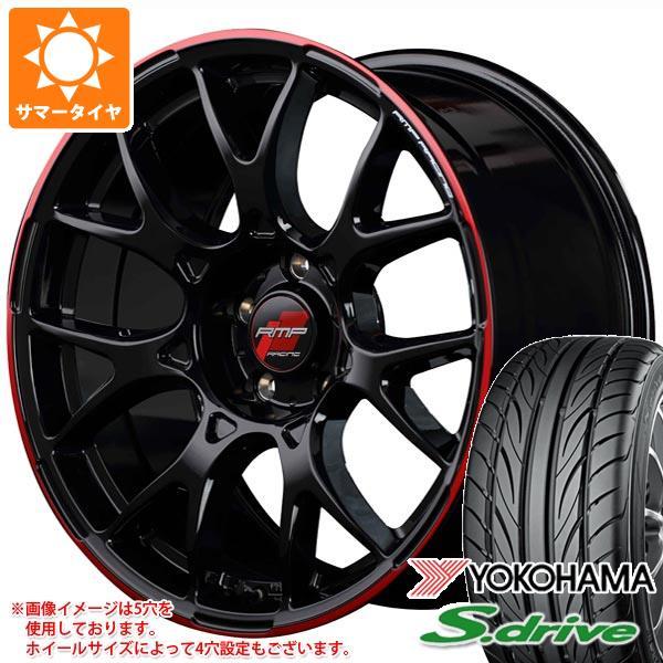 サマータイヤ 165/40R16 70V REINF ヨコハマ DNA S.ドライブ ES03 ES03N RMP レーシング R27 5.0-16 タイヤホイール4本セット