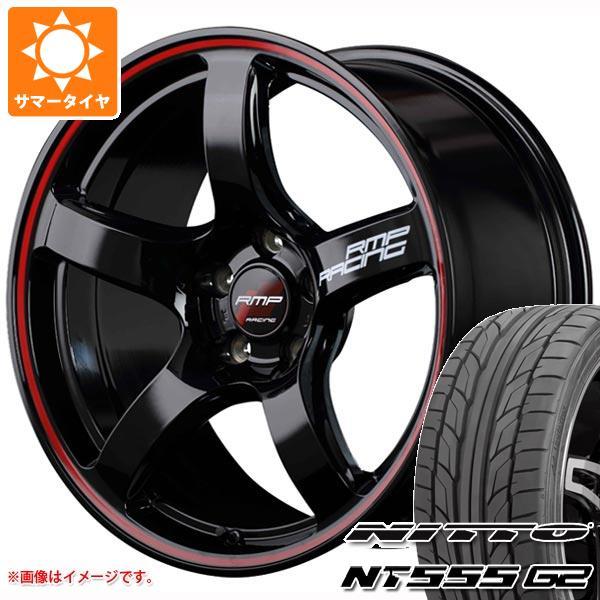 サマータイヤ 215/40R18 89W XL ニットー NT555 G2 RMP レーシング R50 7.5-18 タイヤホイール4本セット