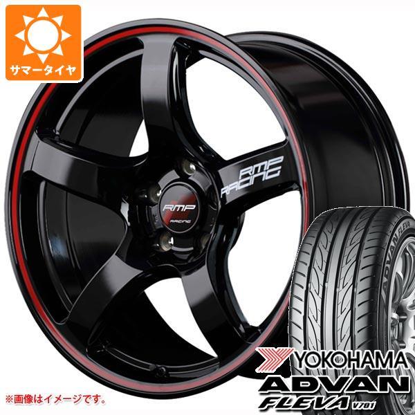 サマータイヤ 235/40R18 95W XL ヨコハマ アドバン フレバ V701 RMP レーシング R50 8.0-18 タイヤホイール4本セット