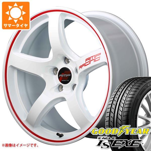 サマータイヤ 205/45R16 87W XL グッドイヤー イーグル LSエグゼ RMP レーシング R50 6.0-16 タイヤホイール4本セット
