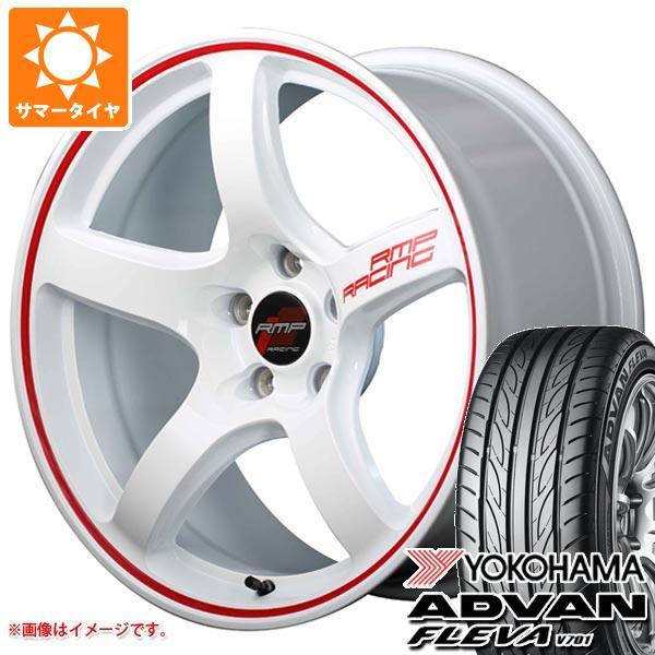 サマータイヤ 245/40R18 97W XL ヨコハマ アドバン フレバ V701 RMP レーシング R50 8.5-18 タイヤホイール4本セット