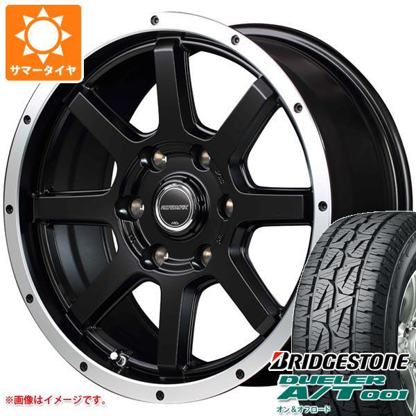 サマータイヤ 265/70R17 115S ブリヂストン デューラー A/T 001 ブラックレター ロードマックス WF-8 7.5-17 タイヤホイール4本セット