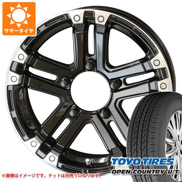 ジムニー JB64W専用 サマータイヤ トーヨー オープンカントリー U/T 215/70R16 100H PPX SJ-X5 5.5-16 タイヤホイール4本セット