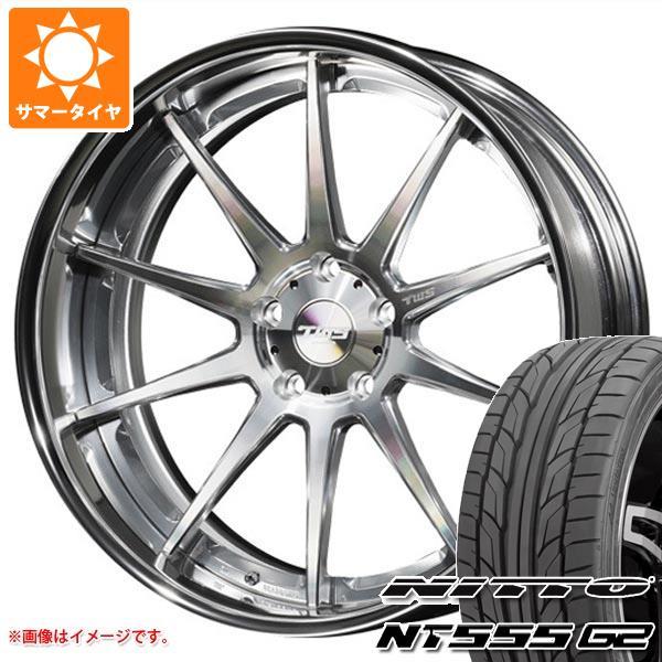 サマータイヤ 245/45R19 102Y XL ニットー NT555 G2 TWS ライツェント WS10 8.5-19 タイヤホイール4本セット