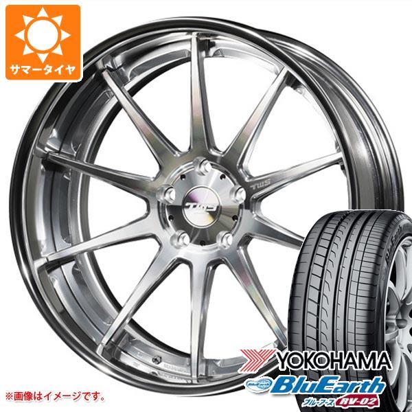 サマータイヤ 245/35R20 95W XL ヨコハマ ブルーアース RV-02 TWS ライツェント WS10 8.5-20 タイヤホイール4本セット