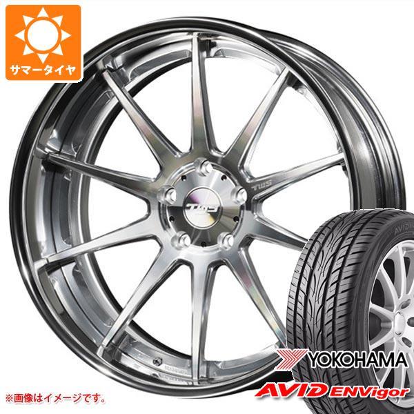 サマータイヤ 245/45R19 98W ヨコハマ エービッド エンビガー S321 TWS ライツェント WS10 8.5-19 タイヤホイール4本セット