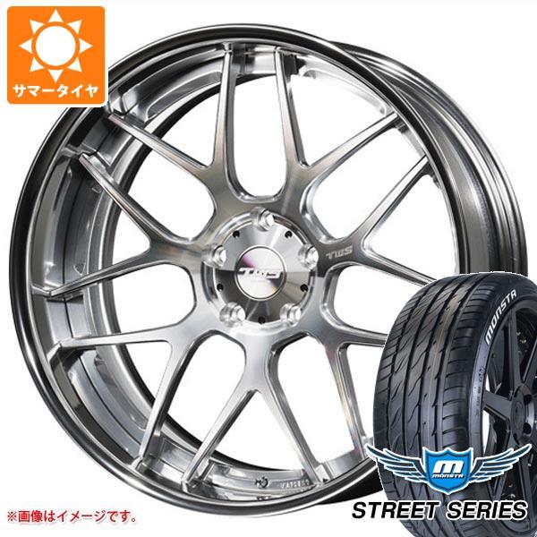 XL 93V タイヤホイール4本セット ライツェント ストリートシリーズ ホワイトレター TWS 8.0-20 モンスタ WX07 225/35R20 サマータイヤ